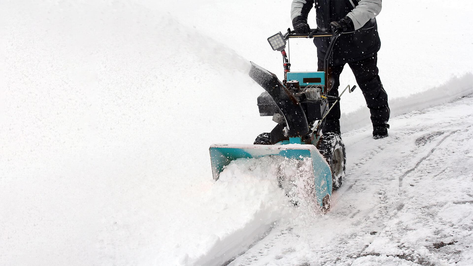 Fein & Rein Winterdienst bei der Arbeit